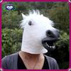 2013 popular mask Latex white Horse Head Mask wholesale price