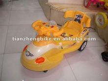 2012 Best Selling High Quality Yellow Baby Swing Car,Children Swing Car,Kids Swing Car(Load 120KGS)