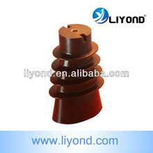 High voltage indoor pin insulator for switchgear