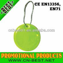 Custom Soft PVC Plastic Reflective keychain