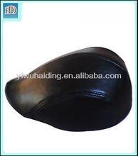 mens leather cap black peacked cap