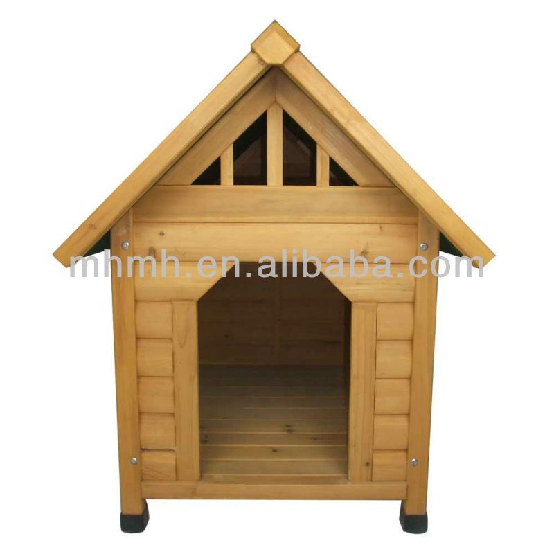 بيت الكلب الكلب الخشبي التنوب