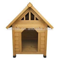 Fir Wooden Dog Kennel