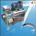 0086 13663826049 automática de acero inoxidable de espina de pescado y pescado escala de la eliminación de la máquina