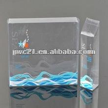 2012 Clear PVC plastic packaging box