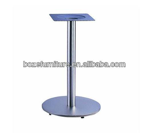 ขาโต๊ะอลูมิเนียมที่มีโครงสร้างแข็งแรง/ตารางฐานกลม