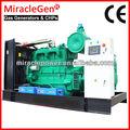 Ng miraclegen generador/chp certificado por ce 10-1000kw