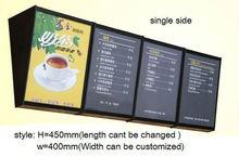 WV 2012 new style LED menu light box