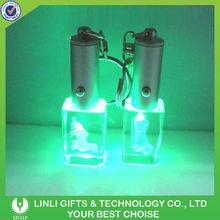 2012 wedding gift keyrings lighted crystal