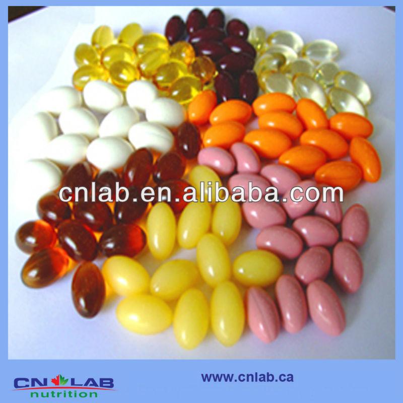 Milk Thistle Extract 80% Silymarin softgel