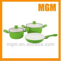 5pcs ceramic coating cookware