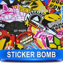 Puck Creative Car Sticker Vinyl Best For Car Decoration / Size: 98 ft x 4.9 ft / Cartoon Sticker / A-01