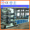 PE, PP, PVC+ wood plastic machinery for board (building board)