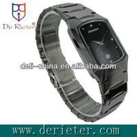 2013 fashion latest style yemeni agate stones Tungsten steel Quartz watch