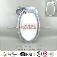 Polyresin elephant mirrors modern