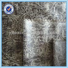 Bronzing warp knitting suede textile sofa fabric