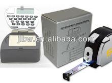 Plastic Tape Measure Calculator With Led Light Logo Printing