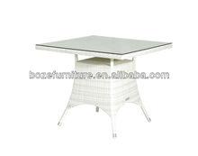 High Quality White Wicker Garden Furniture