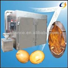 0086 13663826049 plc di controllo automatico di fumo a base di carne macchina forno
