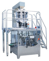 Automatic Stand-up Zipper Doy Pouch Filling Packing Machine