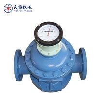 Oil field flow meter/positive displacement fuel flow meter