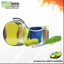 Portable car wash tool kit