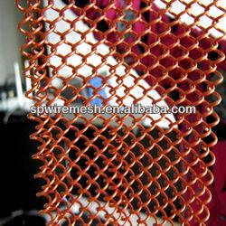 Decorative Metal wall drapery