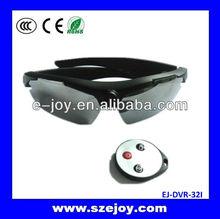 Factory Price 5.0MP 720P Full HD Hidden Glasses Camera,bluetooth sunglasses camera EJ-DVR-32I
