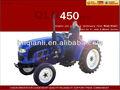 Tracteur de ferme qln-450 45hp 2wd avec le meilleur prix. 4 moteur diesel de cylindre, pto 540/760 rpm, toutes sortes d'outils disponibles.