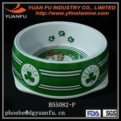 Non-slip novelty pet dog bowl