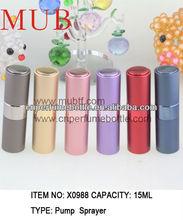 High-end Russia Aluminium Portable Oil/Perfume Atomizer