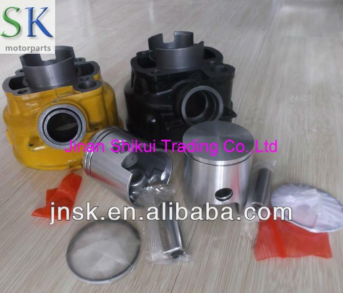 Kit cilindro 50cc minarelli AM6 70cc minarelly alumínio cylinder40 3 mm 47 mm