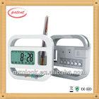 YD8118 office supplies alarm pen holder clock