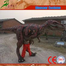 Professional robotic move dinosaur costume