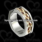 Hot sell fashion tungsten jewelry foot finger ring