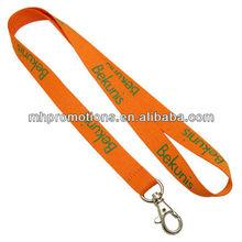 Polyester lanyard with silk printing/neck strap/key&card holder