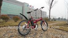 Mini crianças baratos bicicleta elétrica dobrável