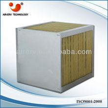 Air heat exchange core/cross flow
