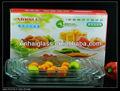 Pyrex/borosilicato/resistente ao calor 3.0l retangular assar prato/bakeware/utensíliosdecozinha/utensílios de cozinha
