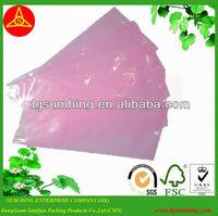 Esd pink pe bag pe plastic bag