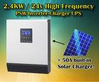 2400w pure sine wave off grid solar inverter charger 24v UPS inverter solar inverter