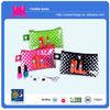 Lipstick transparent PVC promotional travel makeup kit with private label manufacturer
