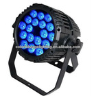 18*10W Outdoor RGBW 4 in 1 LED PAR 64 Light/LED PAR Can/LED Stage Light