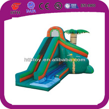 Green jungle commercial water park slides