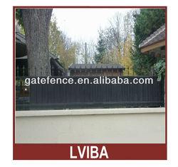 black aluminum fence&Fence designs and Aluminum fence