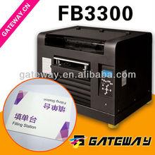 PVC/ABS/PC Sheet Processing Print A3 Format Digital Flatbed Printer FB3300