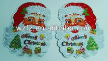 merry ams santa clause felt stickers christmas