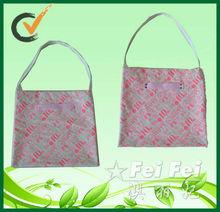 Nice design fashion 14 OZ flat bags canvas shoulder bag