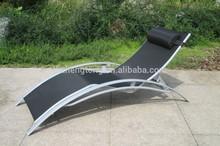 beach KD aluminium sun lounger