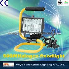 500w Portable work light halogen bulb